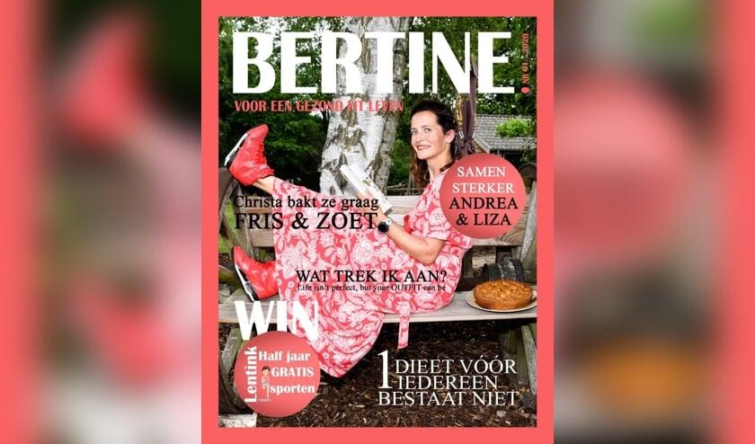 Het magazine met Lentink op de voorpagina. (Eigen foto)