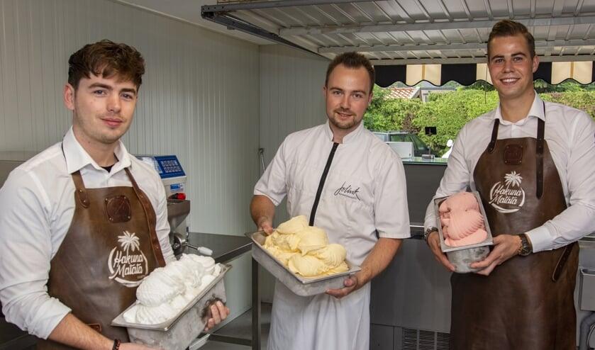 V.l.n.r. Gert-Jan Sluimer, Jordi Jolink en Sjoerd Wagenaar. Foto: Marion Verhaaf