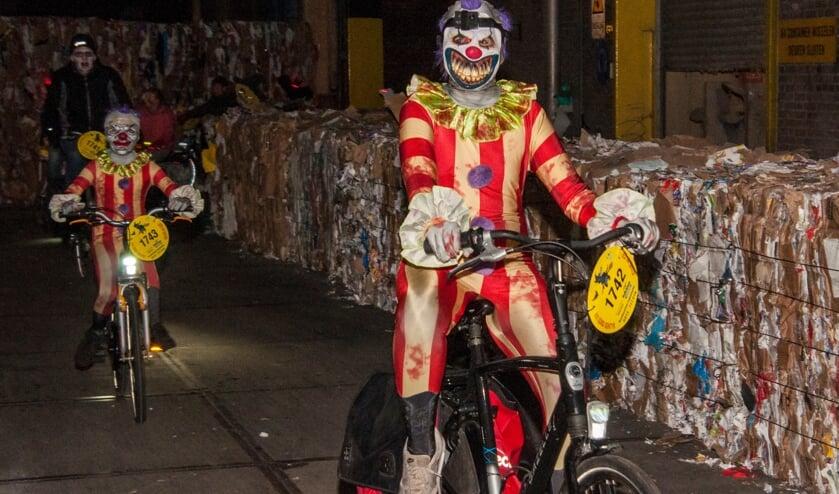 Deelnemers Halloween Ride in 2018. Archieffoto: Marion Verhaaf