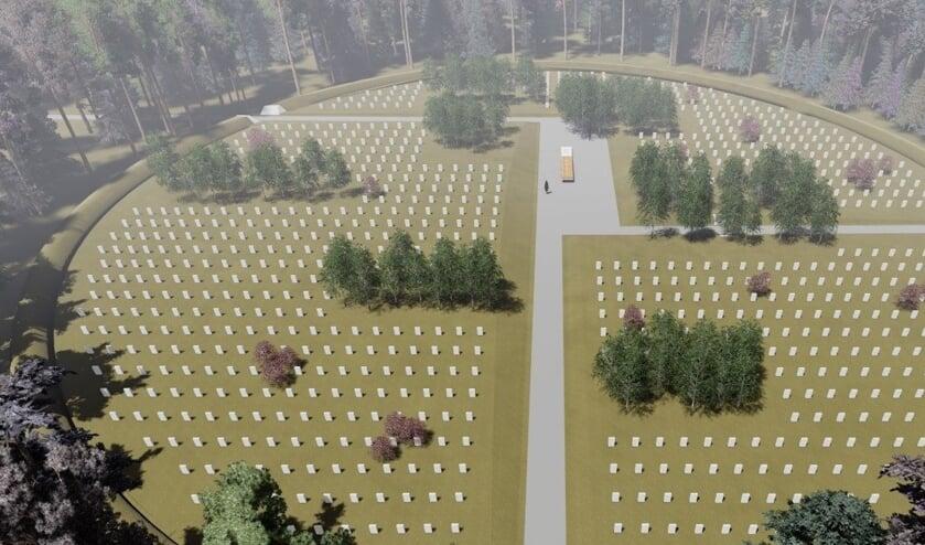 <p><strong>Veteranenbegraafplaats Loenen</strong></p>