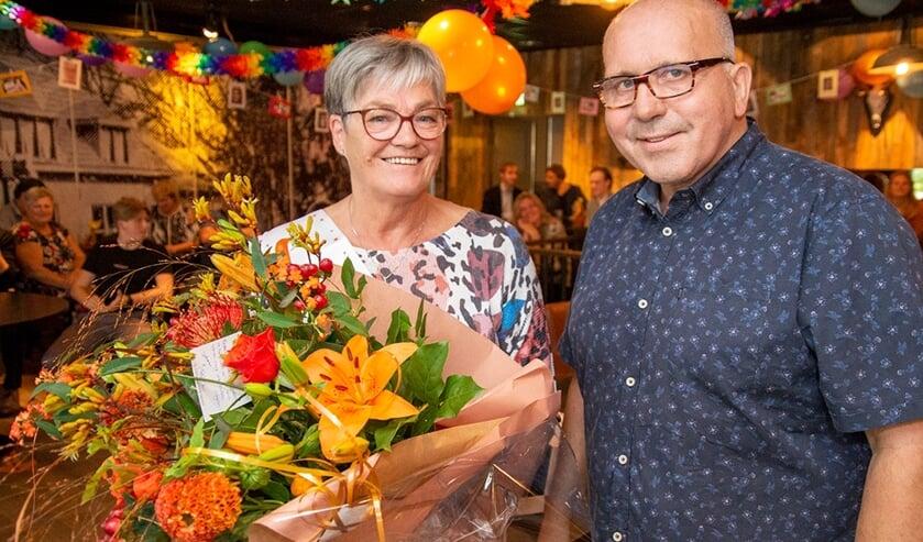<p>Alie Ribbink en Johan van Zadelhoff. Foto: Marion Verhaaf</p>