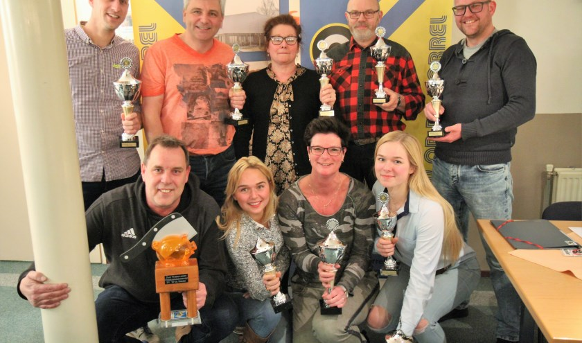 De winnaars (foto: Alphons Stens)