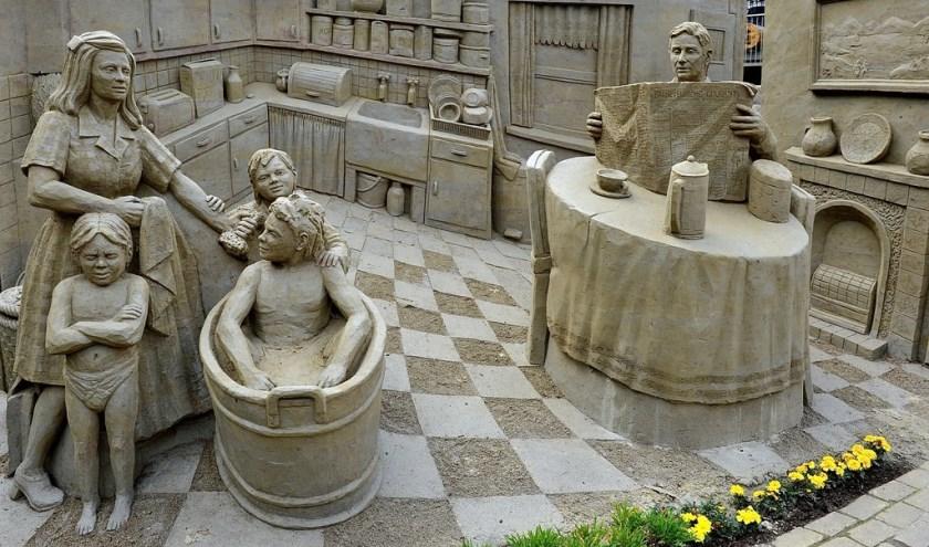 Busreis naar beeldentuin en zandsculpturen in Garderen