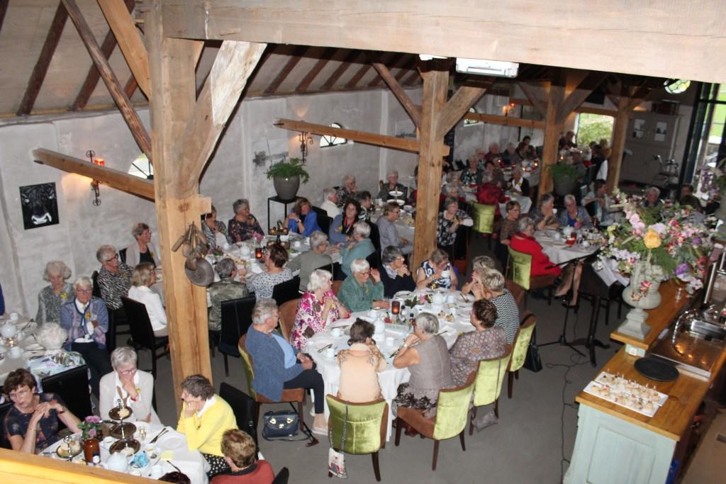 High Tea voor onze leden. (foto: N. de Snoo) Foto: N. de Snoo © Hét Gemeentenieuws
