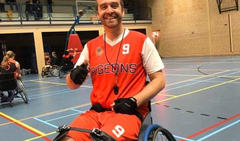 Bjorn Freriks (Pigeons On Wheels) (foto: Pigeons Basketball)