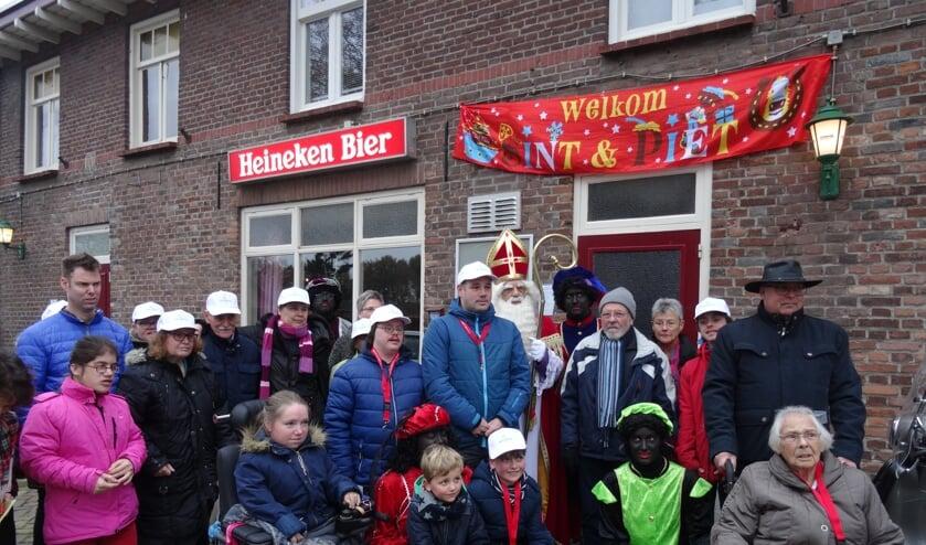 Deelnemers Sint-Nicolaaswandeltocht 2018. (foto: Marianne Noort de Vries)