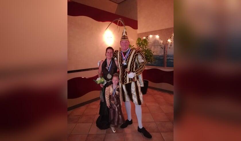 Prins William du Verve, Prinses Hanneke, Hofdame Floor. (foto: Evelien Kaandorp)