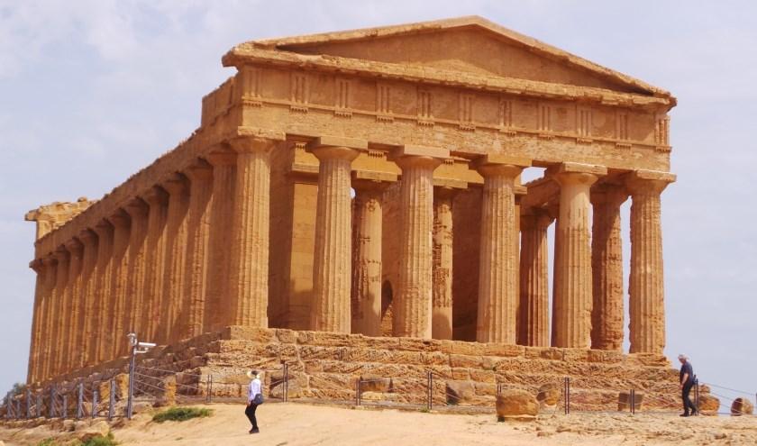 Oude tempel in Agrigento, Sicilië. (eigen foto)
