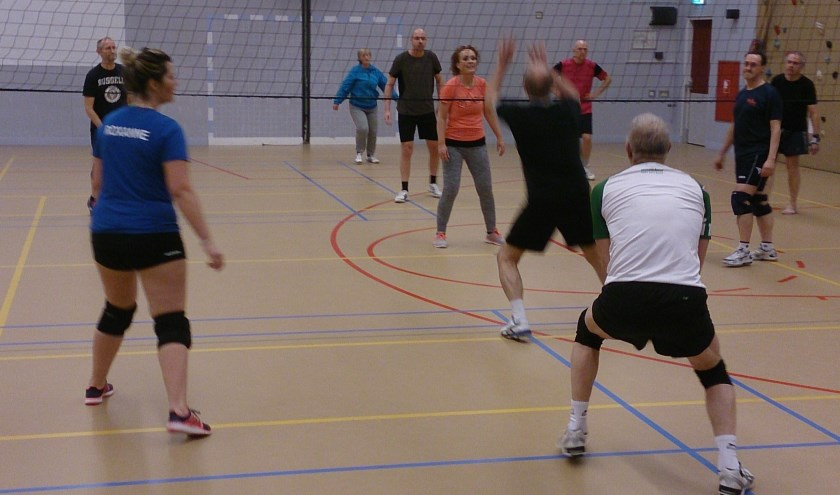 Training recreanten. (foto: Jack Buermans)