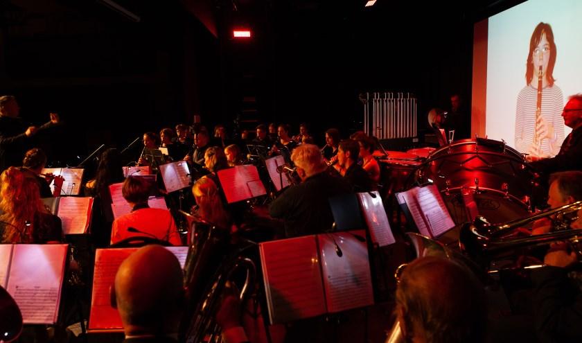 Orkest tijdens Dijkhuizen in Harmony 2019
