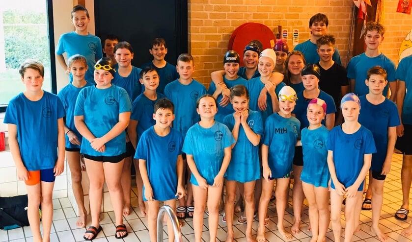 Zwemmers ZVO. (foto: Haruko Lamers)
