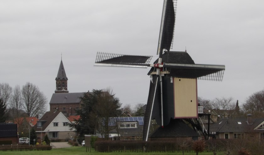Molen Zeldenrust Overasselt. (foto: Nico van den Broek)