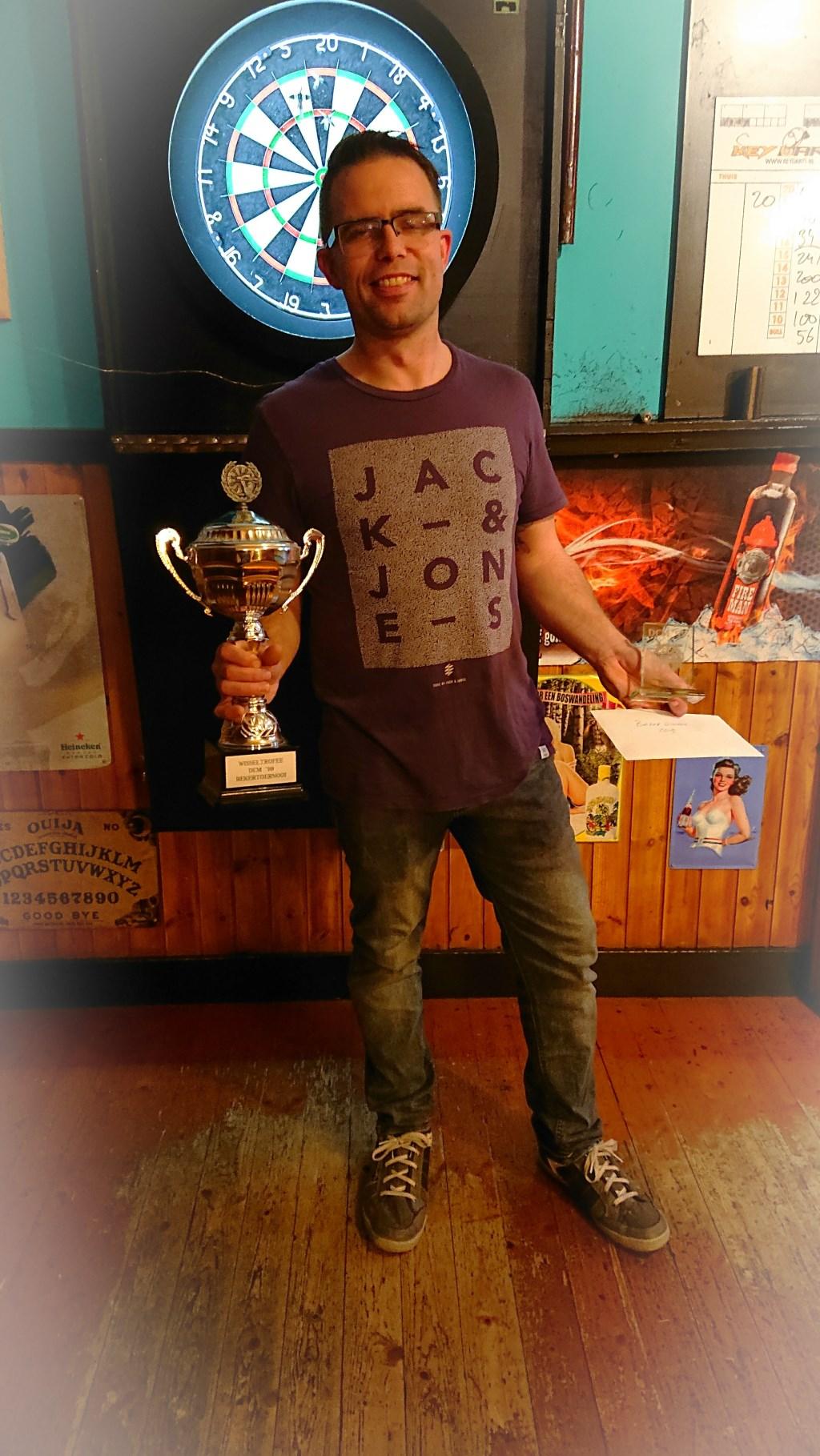 Niels winnaar DCM-cup 2019. (foto: R. Braam)