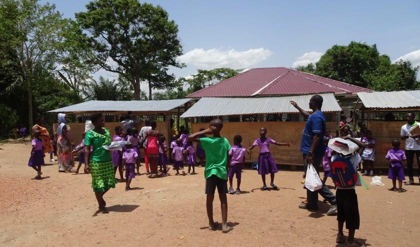 De school. (foto: stichting Kwame)
