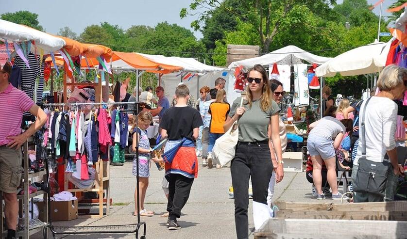 Impressie van de markt. (foto: Thea Verkerk)
