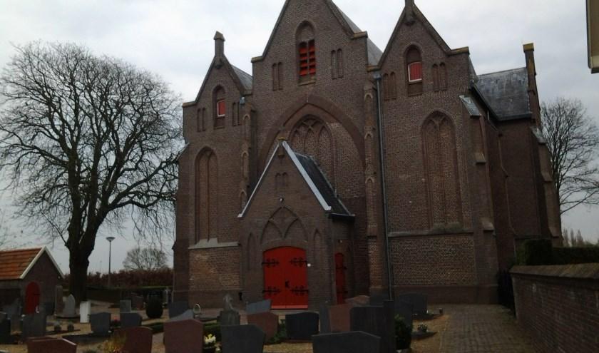 De kerk in Loo. De H Antonius Abt.
