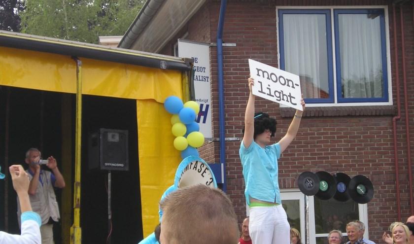 Ronnie Polman maakte in 2007 deel uit van de show van Alarmfase 3. (foto: Bemmelse Dweildag)