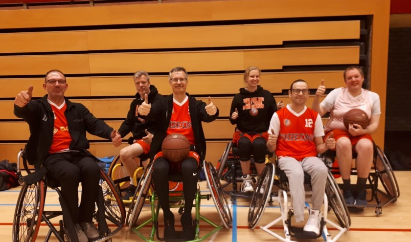 Links naar rechts Peter Gijsbers, Robert Dekker, Isabelle Haring, Maarten Groenendijk en Martijn van de Goor.