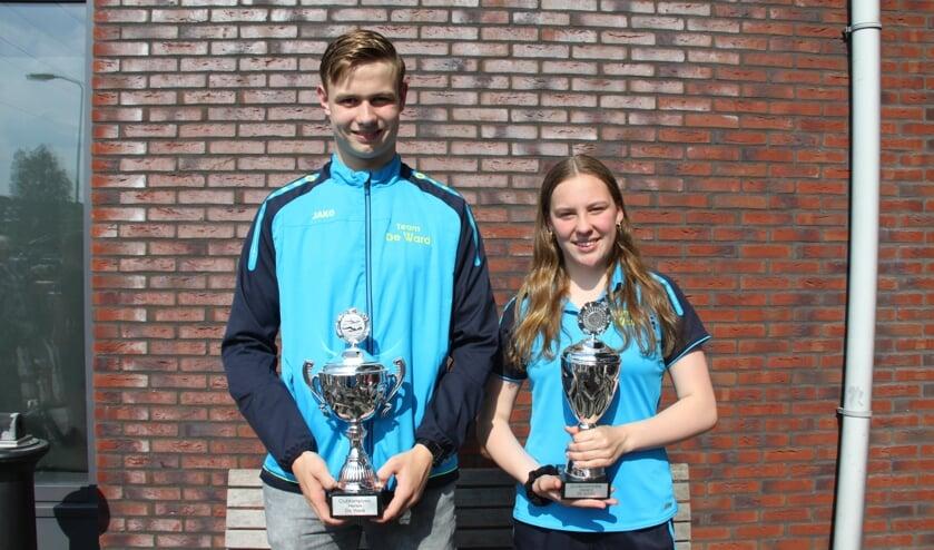 Mick en Liz zijn de clubkampioenen. (foto: C. de Schrijver)