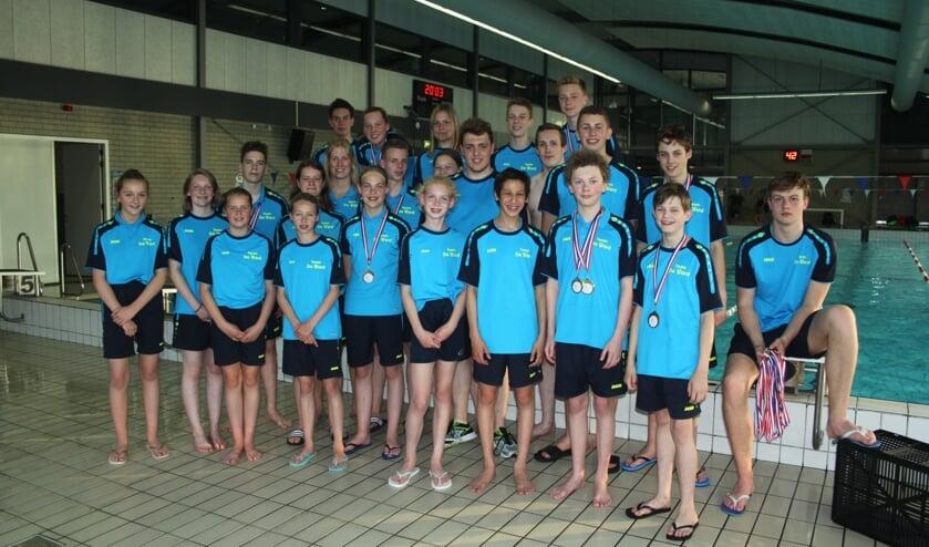 Deelnemers De Ward aan Gelderse Kampioenschappen. (foto: Cindy de Schrijver)