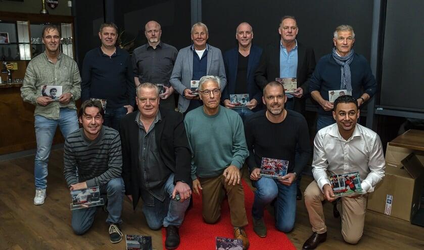 Elftal van de eeuw De Treffers. (foto: Wilma Berends)