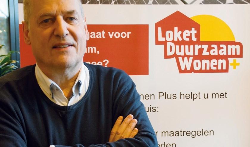 Wim van Megen, adviseur Loket Duurzaam Wonen. (foto: Aafke Labout)