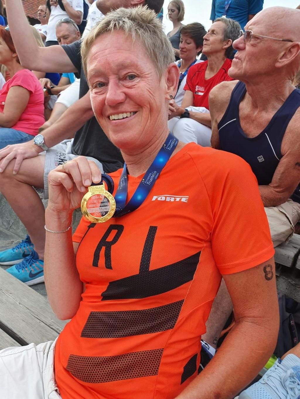 Europees Kampioen Gerda Sollie