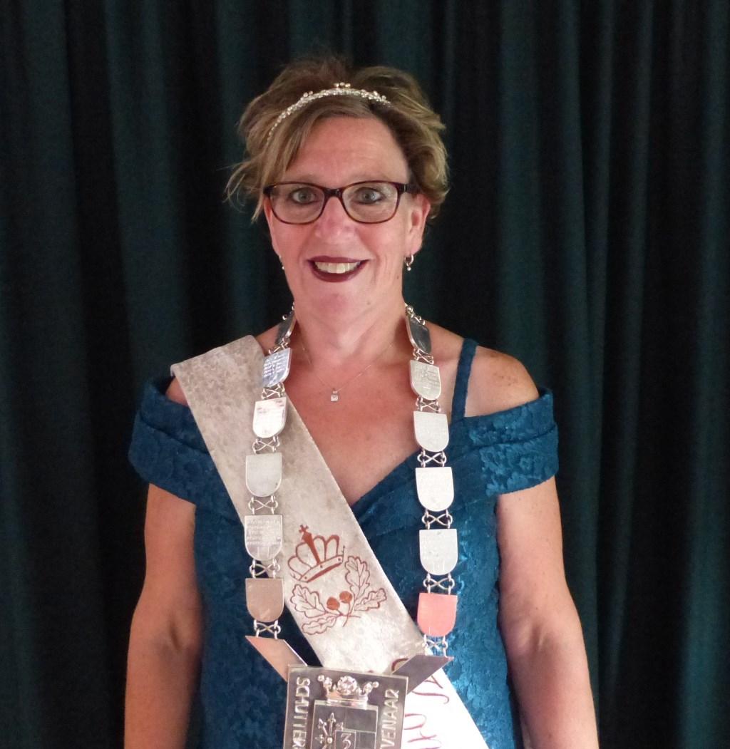 Onze eerste koningin Mascha Brouwer. (foto: Fred van Uem)