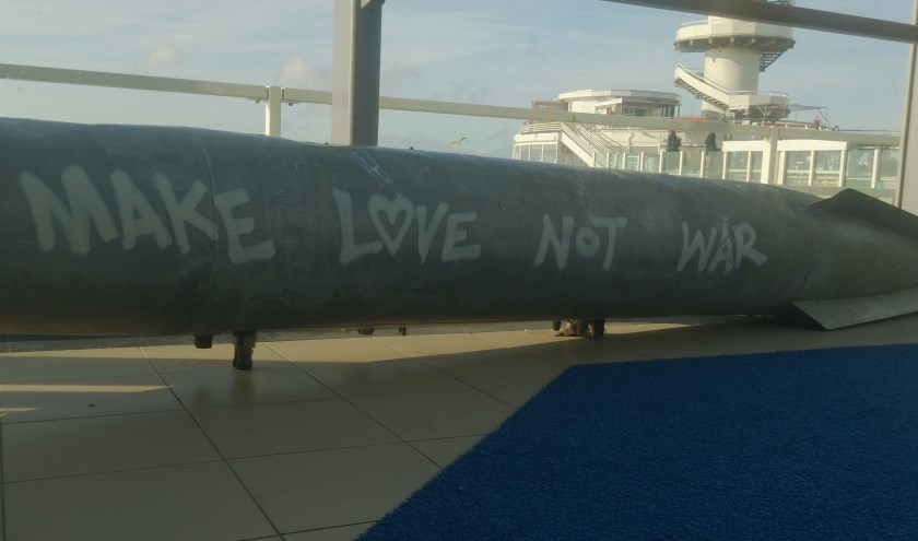 Make love not war. (foto: Marjolein Pieks)