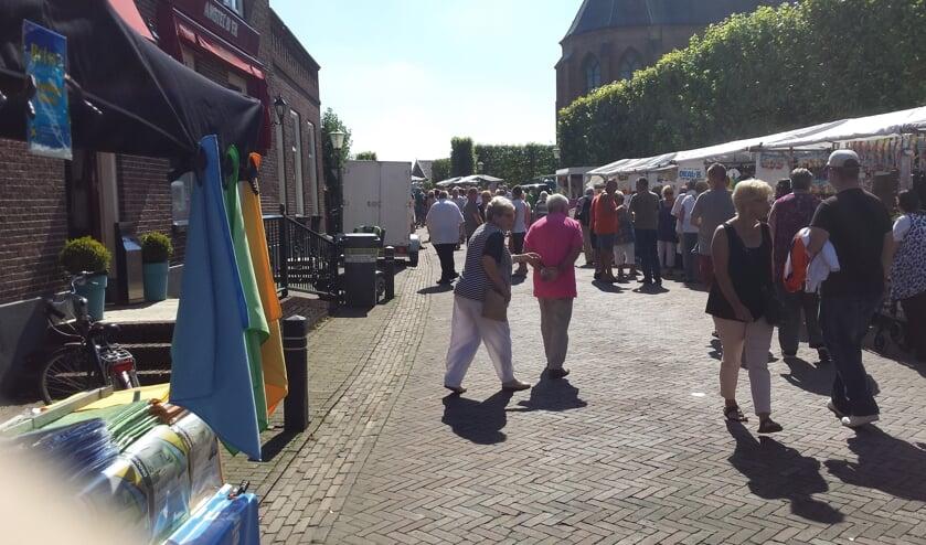 Kijk op de markt. (foto: Wim Schreuders)