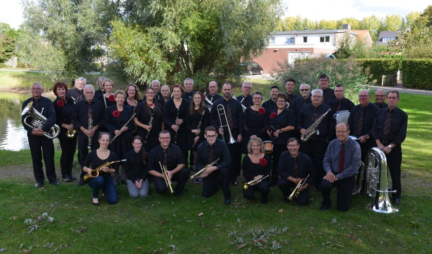 Muziekvereninging Ooijse Toekomst. (foto: Herman Leensen)