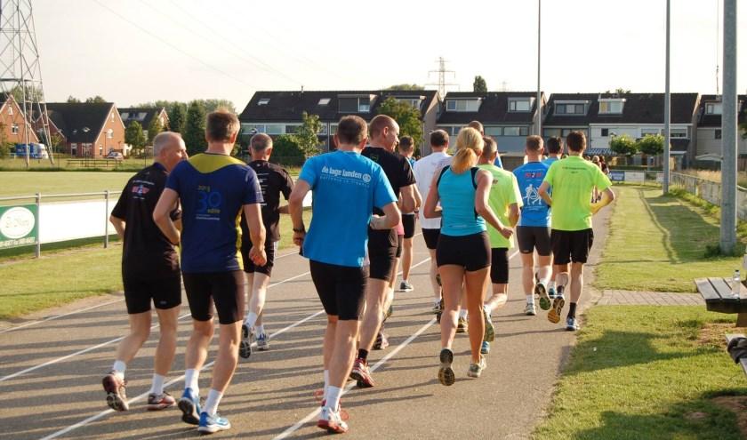 Hardlopen bij b.o.d. de Sprinters. (foto: b.o.d. de Sprinters)