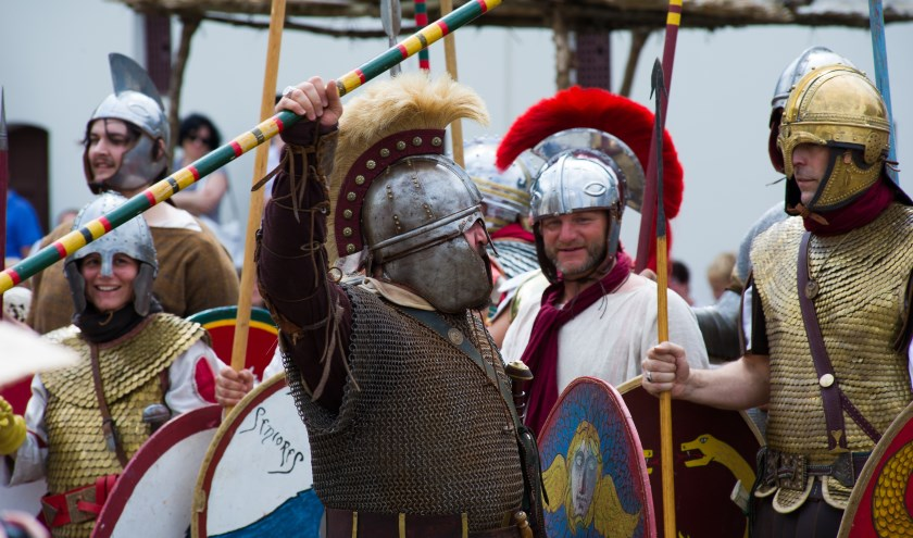 Romeinse re-enactors