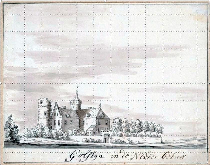 Kasteel Hoekenburg te Rijswijk