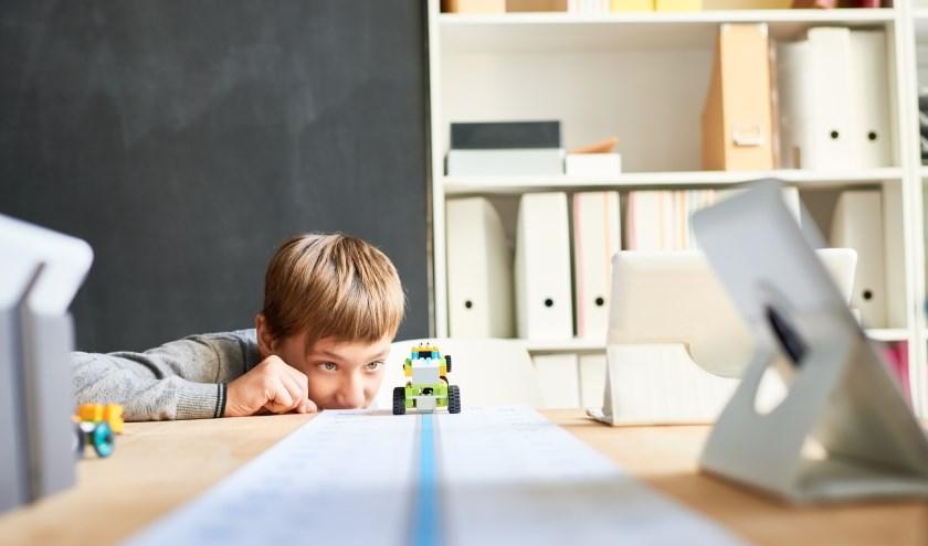 Programmeer een Lego-robot in de bieb.