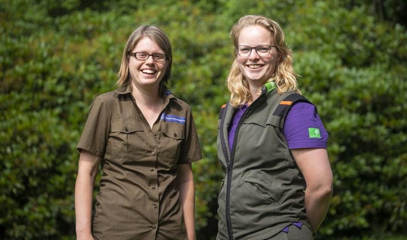 Boswachters Ellen en Lydie. (foto: Natuurmonumenten)