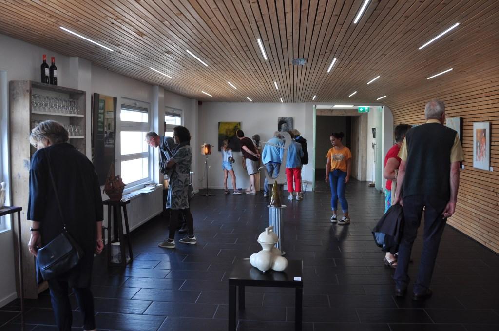 Expositie in Theater De KiK. (foto: Marius Ouborg) Foto: Marius Ouborg © Hét Gemeentenieuws