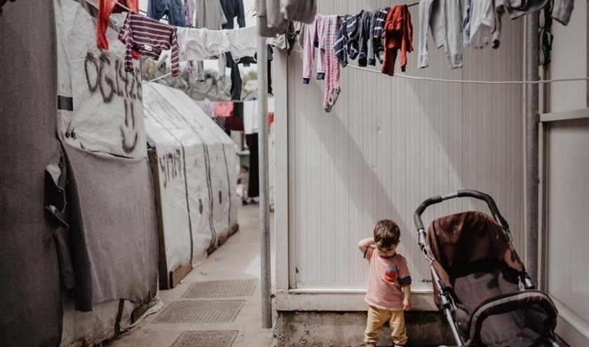 Kamp Moria op Lesbos