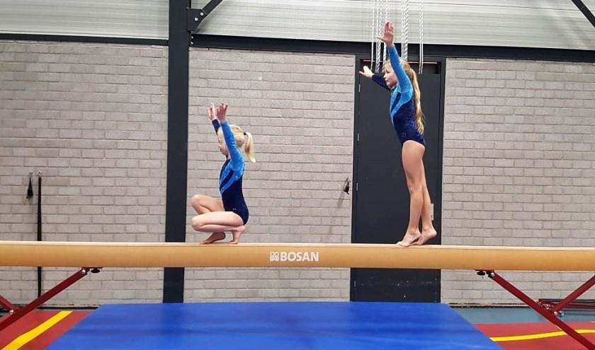 Actiefoto van de gymles van DGV. (eigen foto)