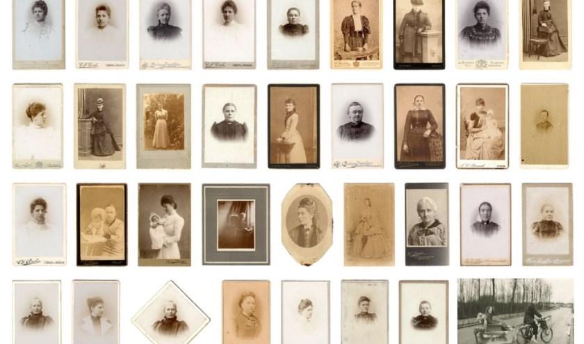 Naamloze vrouwen in de beeldbank van het RAR. (foto: RAR)