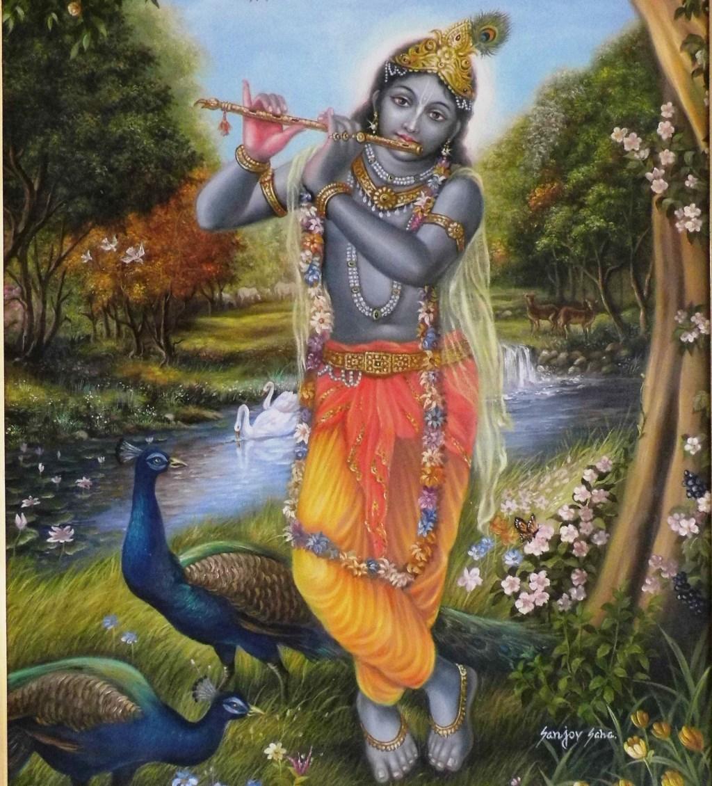 Krishna. (foto: Leo De Kruis)