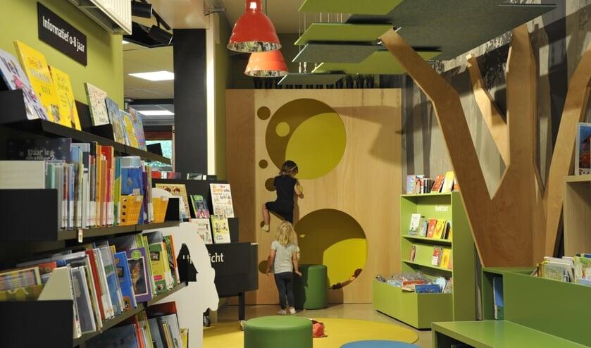 De vernieuwde jeugdafdeling in Bibliotheek Beek-Ubbergen. (foto: Kyra van Hulzen)