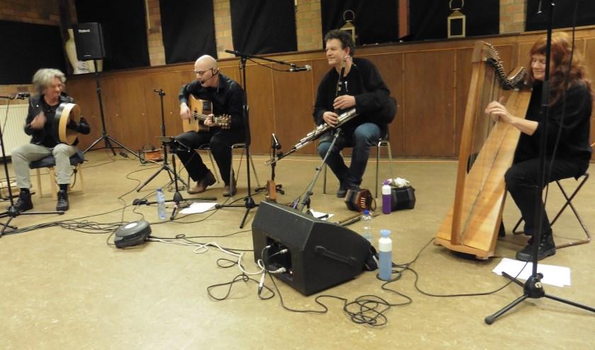 Keltische groep An-Deas. (foto: Marten Post)