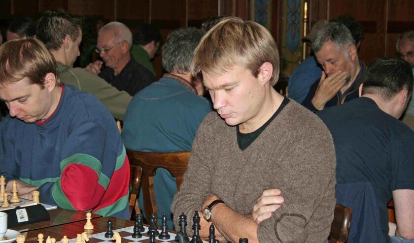 De toernooiwinnaar van het Kiste Trui Toernooi 1994, Nyika Kruyt.