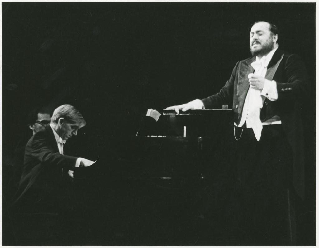 Pavarotti. Foto: onbekend © Hét Gemeentenieuws