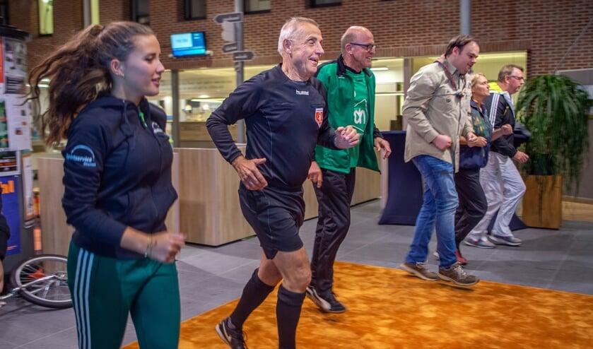 Een aantal projecten die zich richten op het bevorderen van sport en bewegen voor mensen boven de 55 jaar ontvangen subsidie als resultaat van het Rhenense Sport- en Beweegakkoord. (foto: Eveline van Elk)