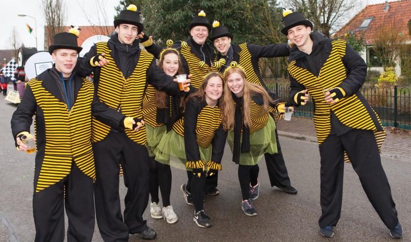 Carnavalsgroep Bots. (foto: Eddy de Wild)