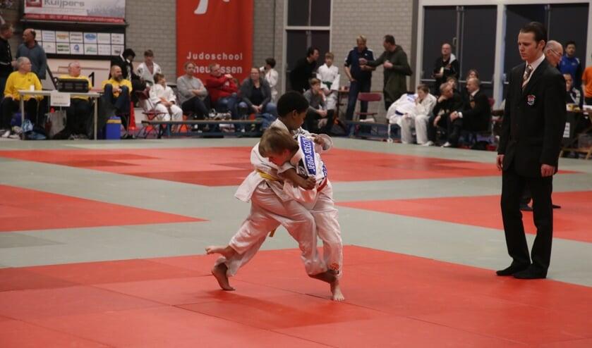 Groot judotoernooi 2019. (foto: Henny Brinkhof)