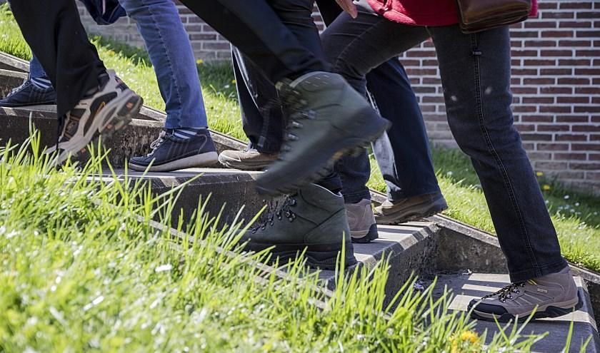 Wandelaars (foto: Stichting Welzijn Lingewaard)