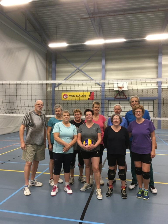 Leden van de club. (foto: Lian Steenhof)